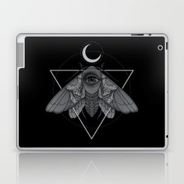 Occult Moth Laptop & iPad Skin