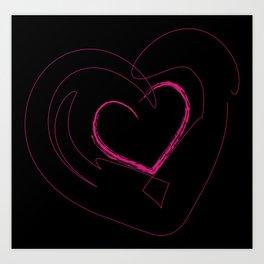 Heart 1 Art Print