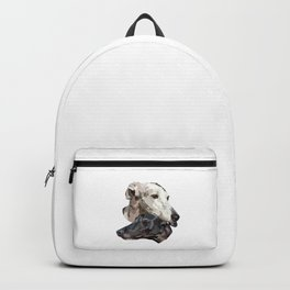 Greyhounds drawing Backpack