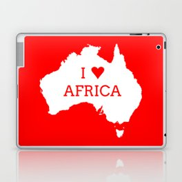 I Love Africa Laptop & iPad Skin