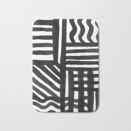 Ink Pattern Bath Mat