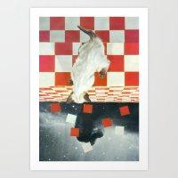 vertigo Art Prints featuring Vertigo by Peter Campbell