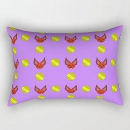 Bat of Wealth Rectangular Pillow