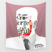 motivation Wall Tapestries featuring Mankind Motivation 6 by Marko Köppe