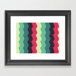 Almost a Chevron Framed Art Print