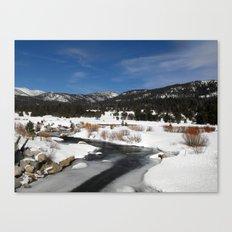 Carson River Canvas Print