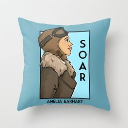 Soar Throw Pillow