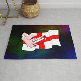 England Rugby Flag Rug