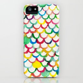 COLOR SCALES iPhone Case