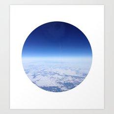 Telescope 12 space Art Print