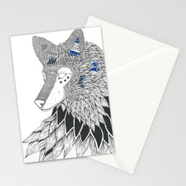 O-oookami Stationery Cards