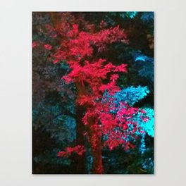 iDeal - Trippy Trees 01 Canvas Print