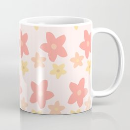 Star Shaped Flowers Coffee Mug
