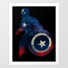 For Truth And Justice Art Print