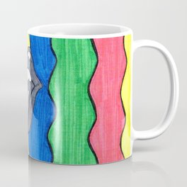 rainbow rolling stones Coffee Mug