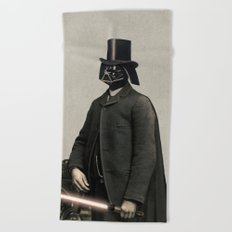 Lord Vadersworth Beach Towel