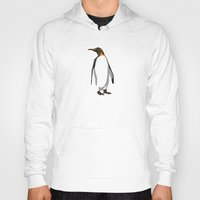 penguin Hoodies featuring Penguin by Mr. Peruca