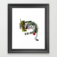 telephone  Framed Art Print