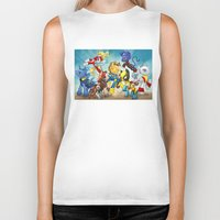 mlp Biker Tanks featuring MLP X-Men by Kimball Gray