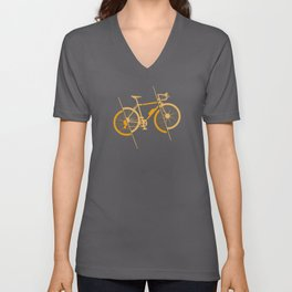 Ride Your Bike Cycling And Triathlon Unisex V-Neck