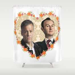 Hearted Mystrade Shower Curtain