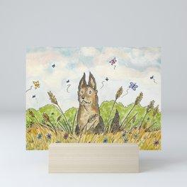 Cornfields Mini Art Print