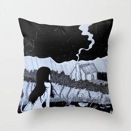 Huldra Throw Pillow