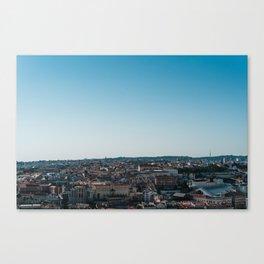Lisbon City Panoramic View Canvas Print