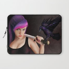 The raven girl Laptop Sleeve