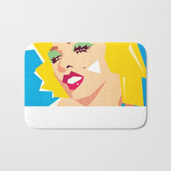 pop art  Bath Mat