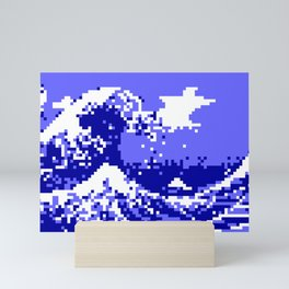 Pixel Tsunami Mini Art Print