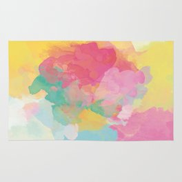 RAINBOW SPLATTER LAYERS Rug