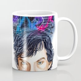 Sherlock Holmes: Mind Palace Coffee Mug