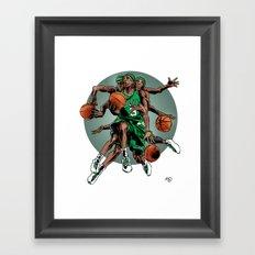 Rondo as Ganesh Framed Art Print