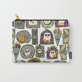 veggie sushi white Carry-All Pouch