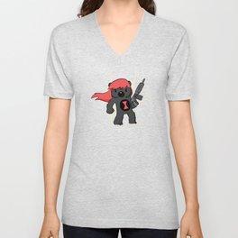 Bear Widow  Unisex V-Neck