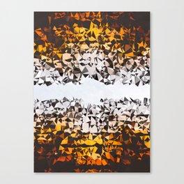 Fading Pieces Canvas Print