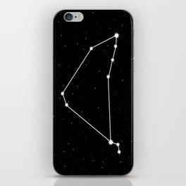 Capricorn Astrology Star Sign Night Sky iPhone Skin