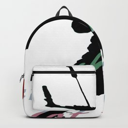 Let It Blow Christmas Holiday Kiteboarding Sport Backpack