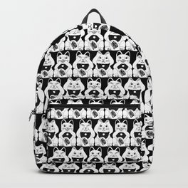 Three Smart Cats Backpack