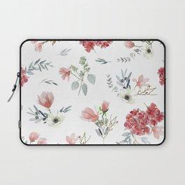 Autumn Floral Pattern Laptop Sleeve