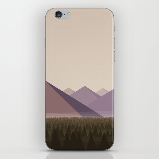Twin Peaks - James' Valley View iPhone & iPod Skin