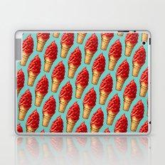 Ice Cream Pattern - Cherry Dip Laptop & iPad Skin