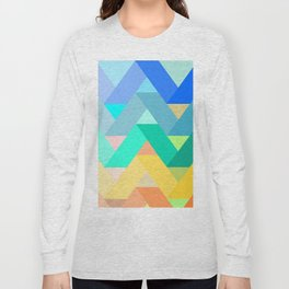 Chevron chevron Long Sleeve T-shirt