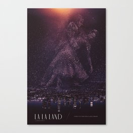 La La Land Alt Poster Canvas Print
