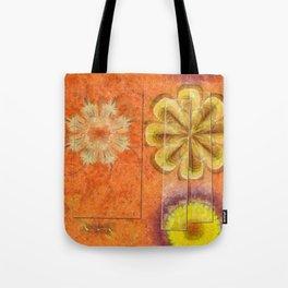 Dorsel Trance Flower  ID:16165-115815-42891 Tote Bag