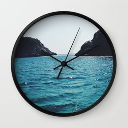 Firm Footing Wall Clock
