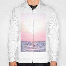 Ocean waves #pink Hoody