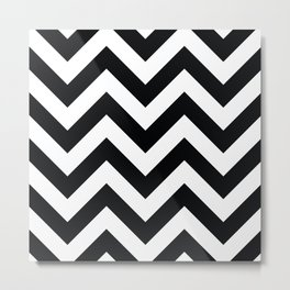 Chevron pattern II Metal Print