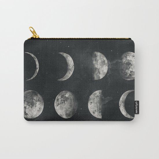 Watercolor moon phases Carry-All Pouch